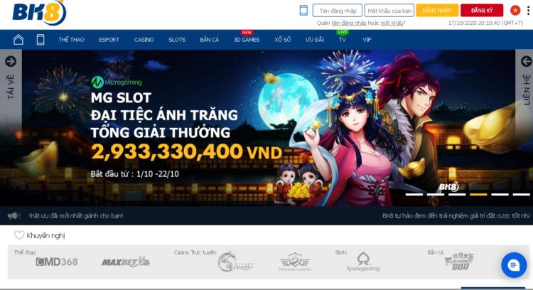Bk8bong- Nhà cái cá cược đổi thưởng uy tín hàng đầu châu Á