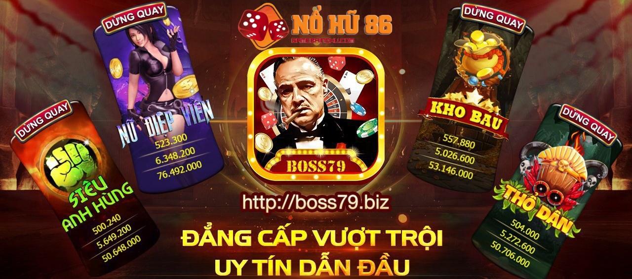 Boss 79 – Đánh giá cổng game bài đổi thưởng cho người Việt khắp 5 châu