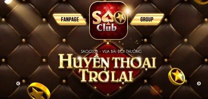 Sao club – Cổng game bài nổ hũ giải trí đổi thưởng huyền thoại